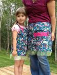 Adult and Child Aprons