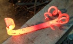Custom Piece by Arctic Anvil Blacksmithing