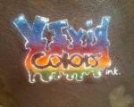 vivid colors ink